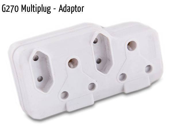 g270 multiplug adaptor