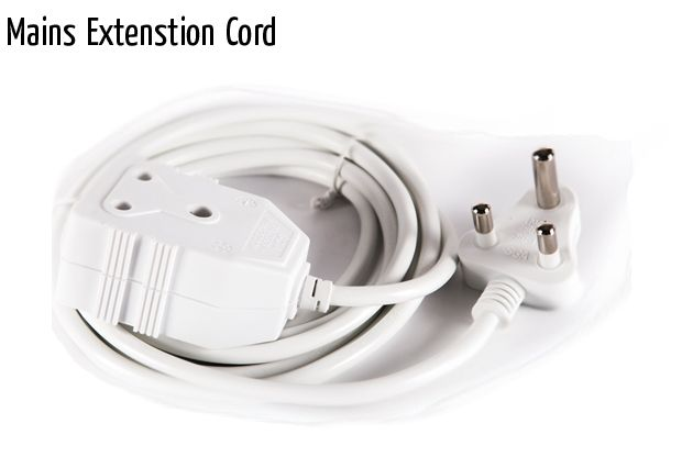 mains extenstion cord