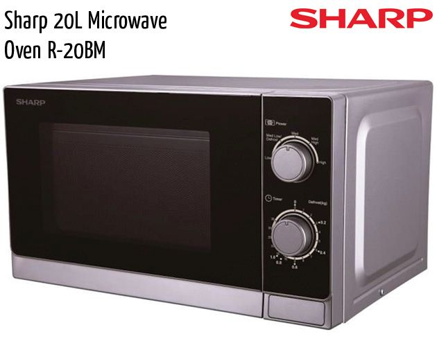 sharp 20l microwave oven r 20bm
