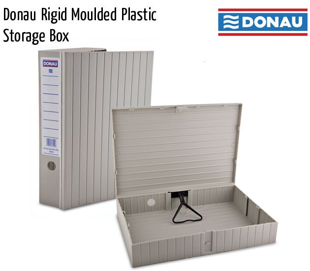 donau rigid moulded plastic storage box