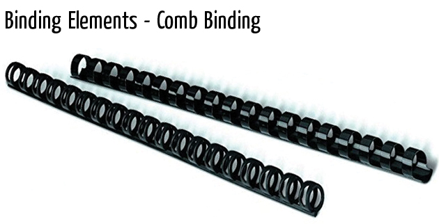 binding elements comb binding