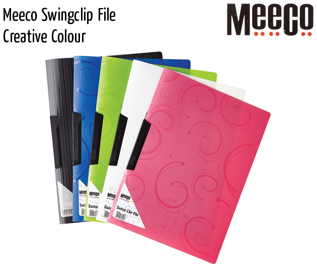 meeco swingclip file creative colour
