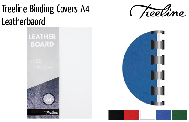 treeline binding covers a4 leatherboard