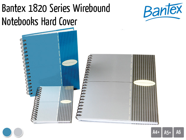 bantex 1820 wirebound notebooks