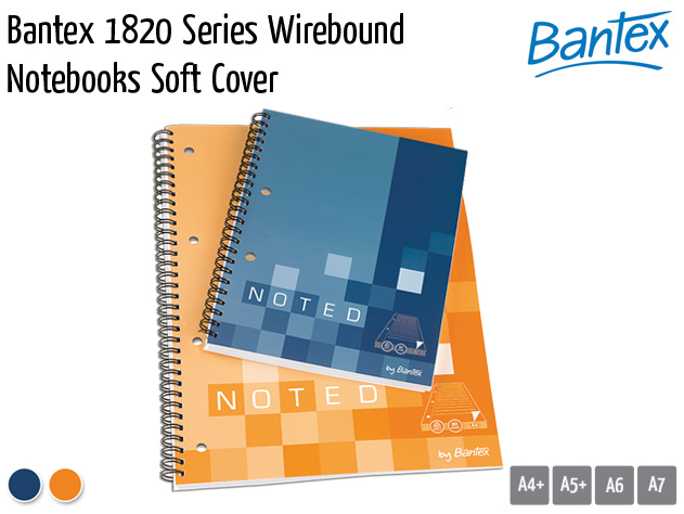 bantex 1828 wirebound notebooks