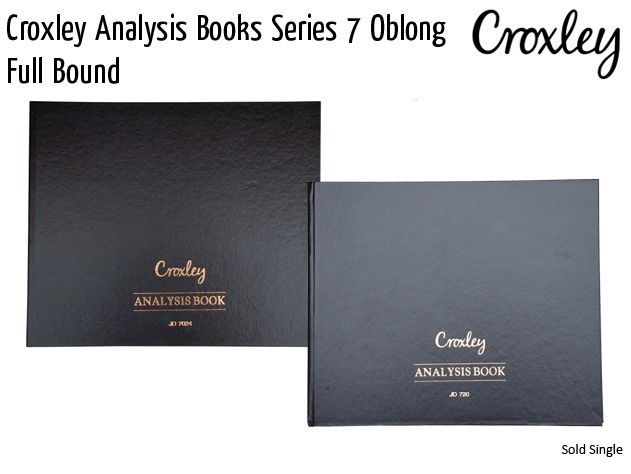 croxley analysis books series 7 oblong