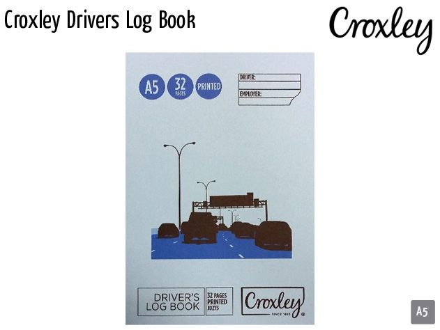 croxley drivers log book