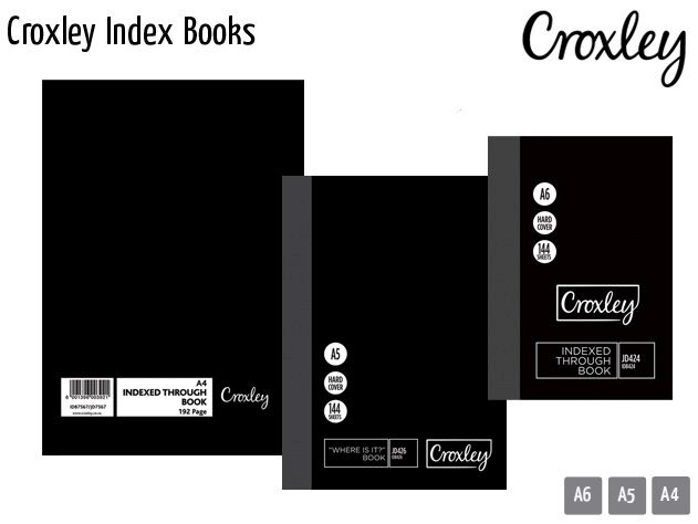 croxley index books