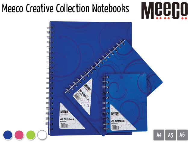 meeco creative collection notebooks