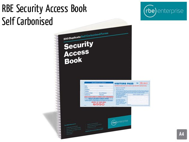 rbe security access book