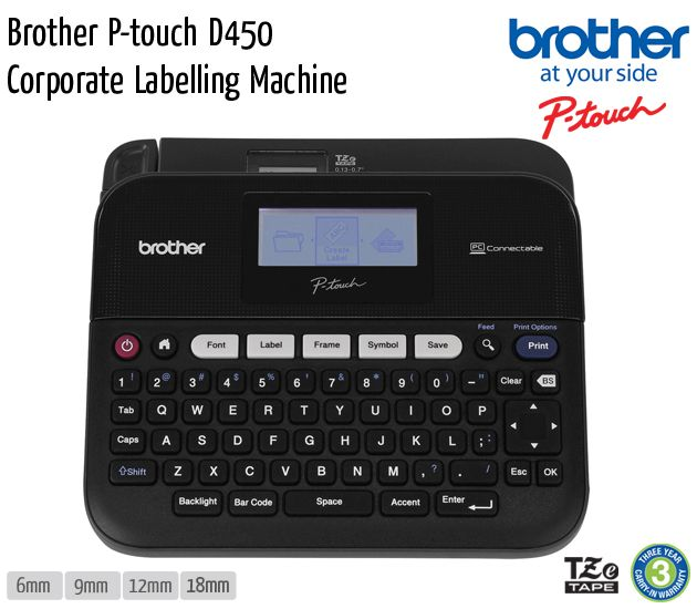 brother p touch d450