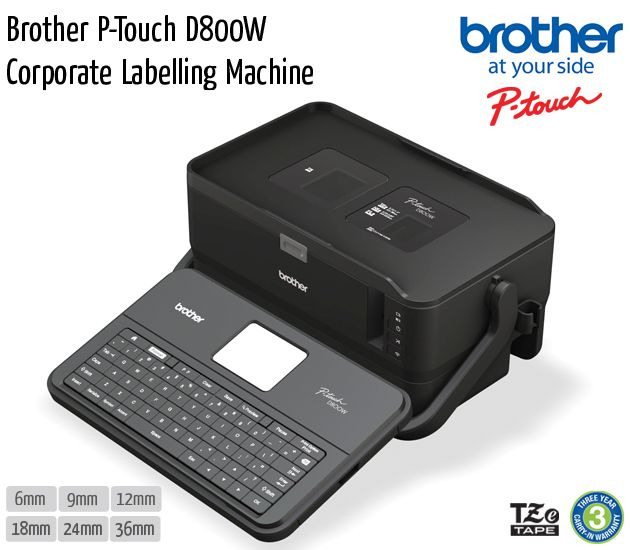 brother p touch d800w