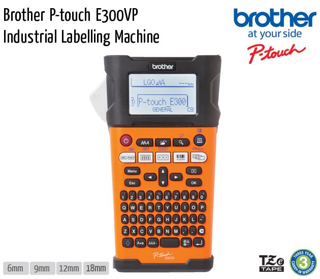 brother p touch e300vp