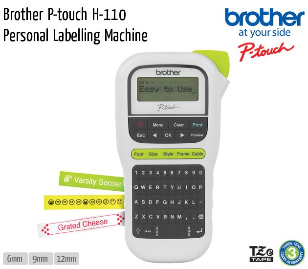 brother p touch h 110