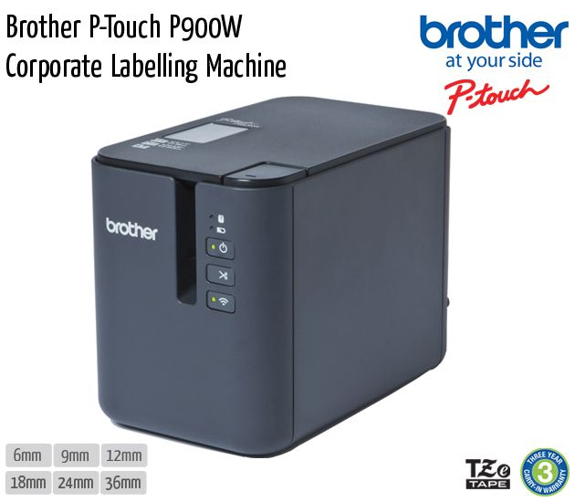 brother p touch p900w