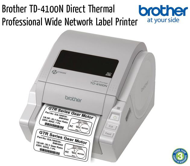 brother td 4100n direct thermal