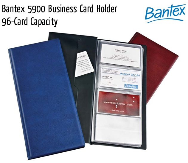 bantex 5900 business card holder