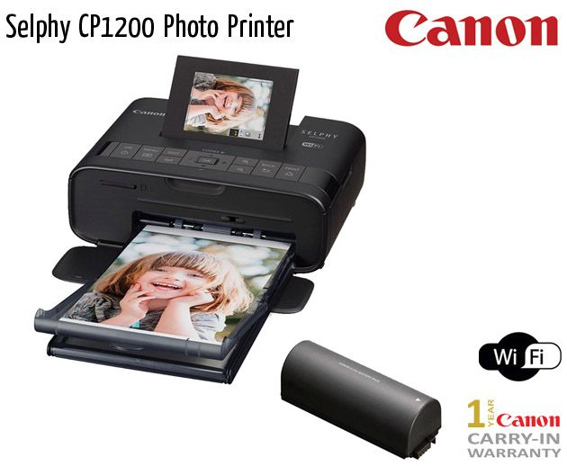 selphy cp1200 photo printer