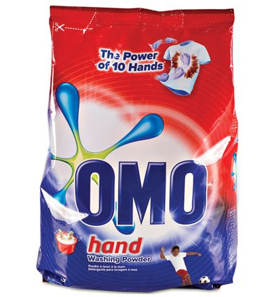 omo washing powder