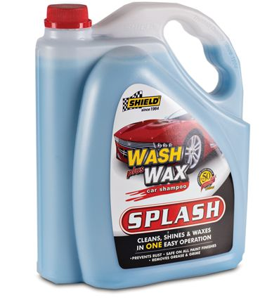 shield wash wax car shampoo