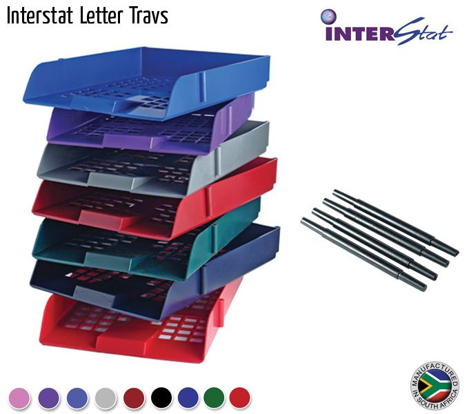 interstat letter trays