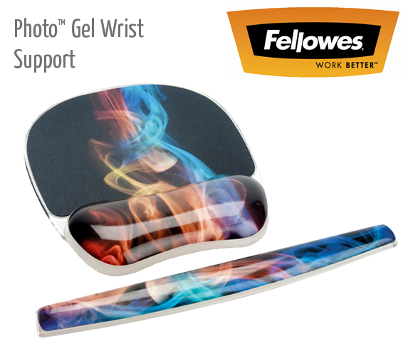 photo gel keyboard wrist support