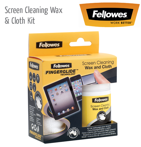 screen cleaning wax cloth kit