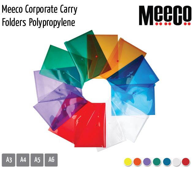 meeco corporate carry folders