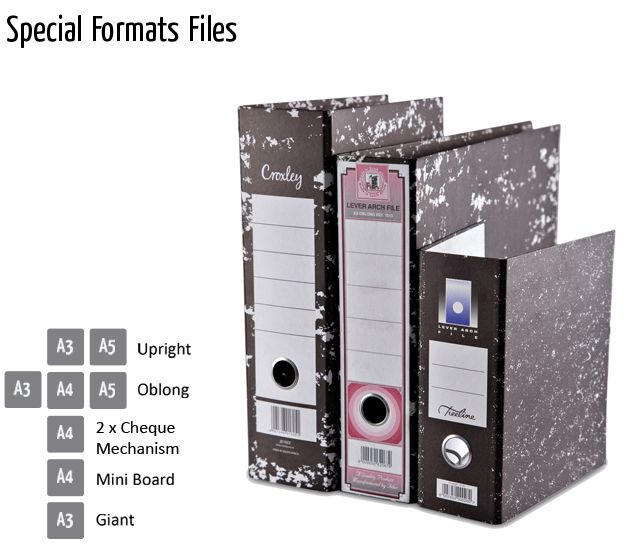special formats files