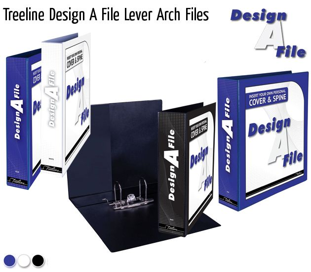 treeline design a file lever arch files