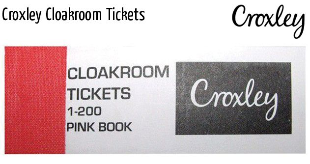 croxley cloakroom tickets