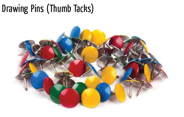 drawing pins thumb tacks