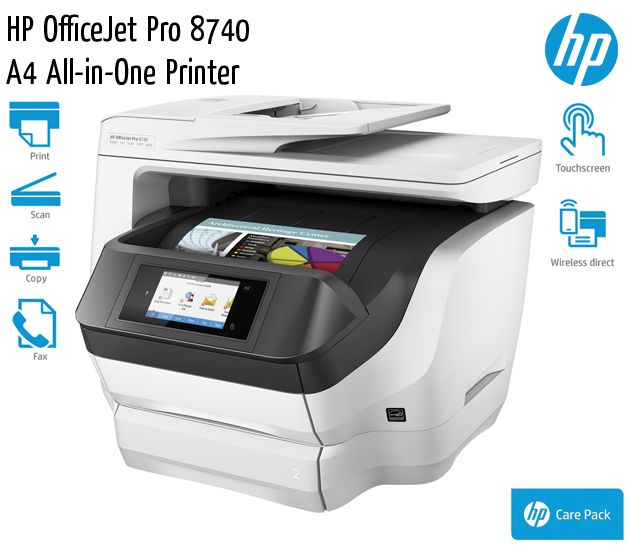 hp officejet pro 8740 a4 all in one printer