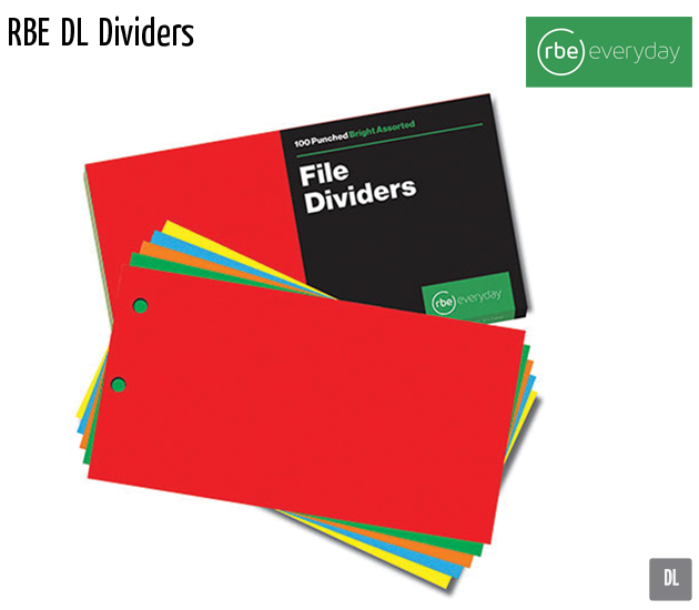 rbe dl dividers