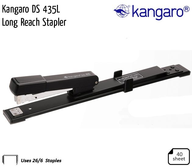 kangaro ds 435l long reach stapler