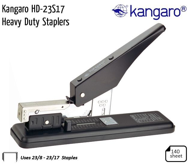 kangaro hd 23s17 heavy duty staplers