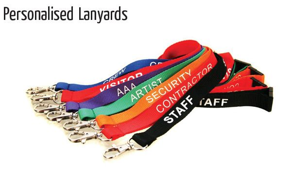 personalised lanyards