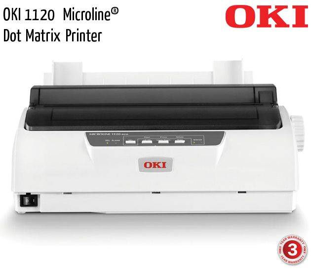 oki 1120 microline dot matrix printer