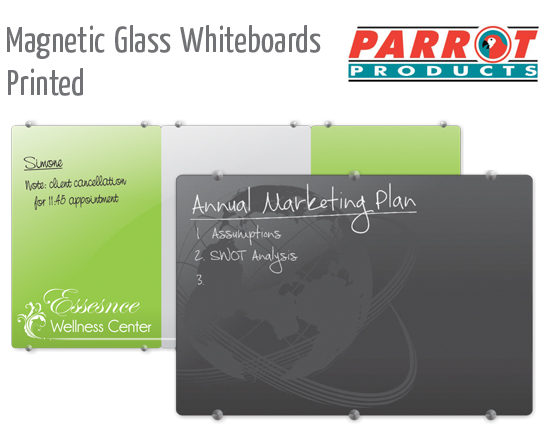 magnetic glass wb printed
