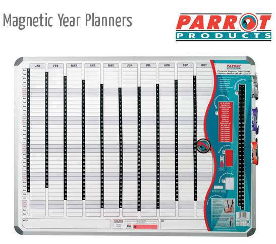 magnetic year planner