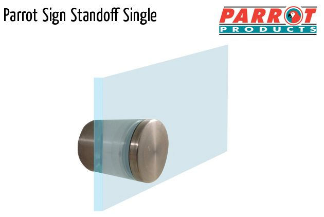 parrot mf sign standoff single