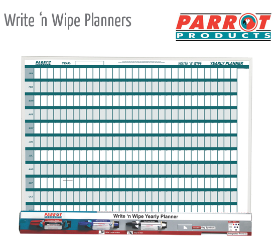 write n wipe planners