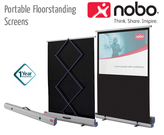 portable floorstanding screens