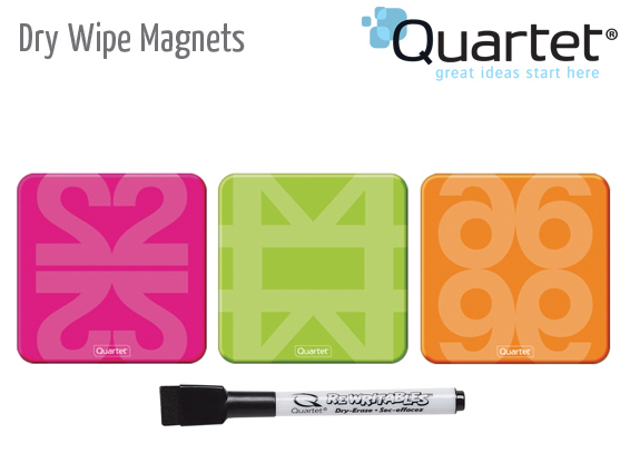 dry wipe magnets