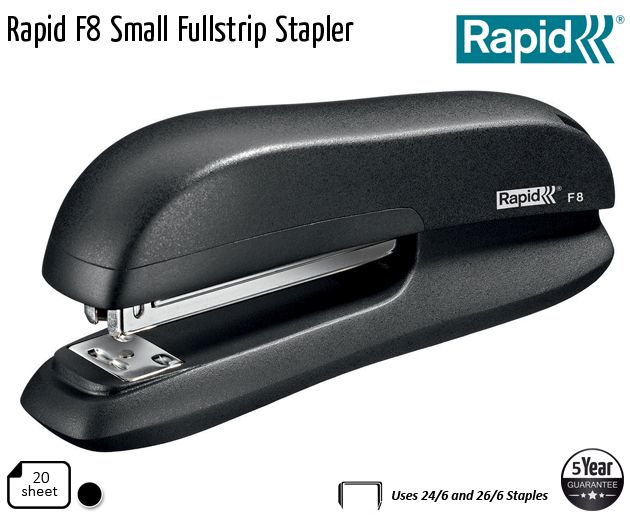 rapid f8 small fullstrip stapler