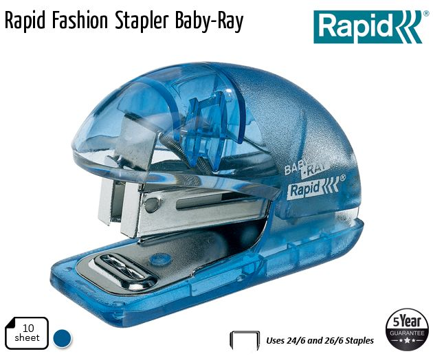 rapid fashion stapler baby ray