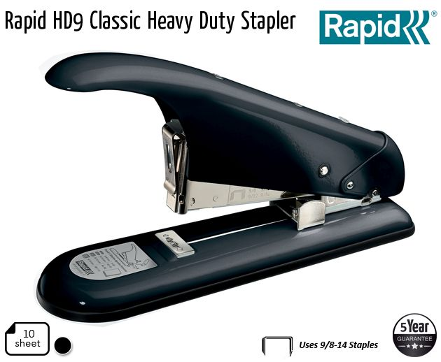 rapid hd9 classic heavy duty stapler