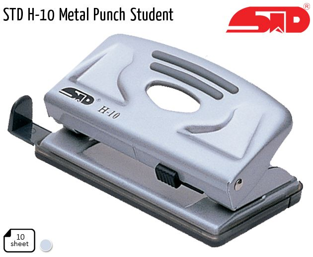 std h 10 metal punch student