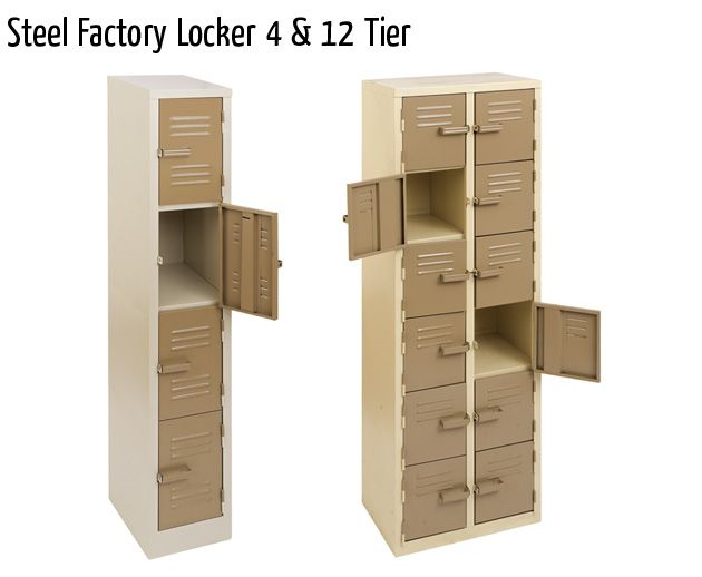 steel factory locker 4 12 tier
