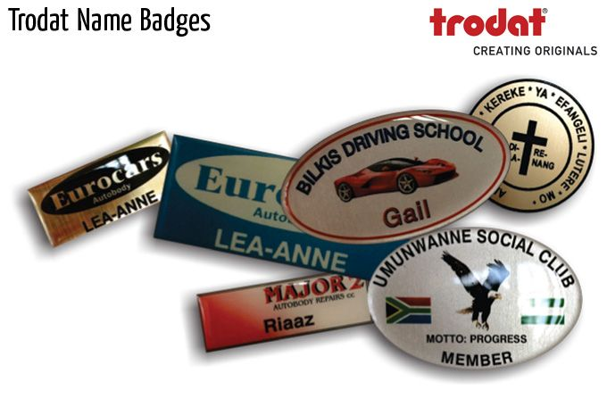 trodat name badges
